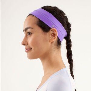 Lululemon Purple Flyaway Tamer Headband